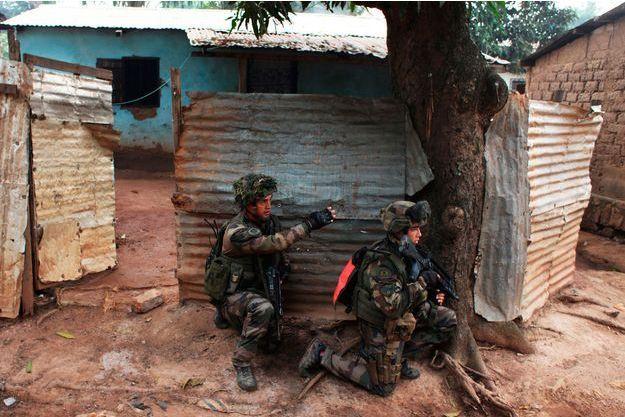 Deux soldats français déployés à Bangui