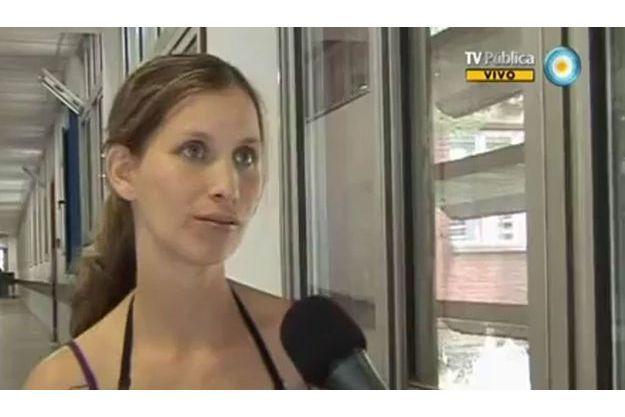 Analia Bouter a eu la surprise de découvrir que son bébé, déclaré mort-né, était en fait bien en vie.