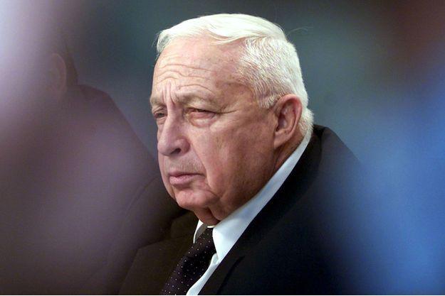 Ariel Sharon en 2002.