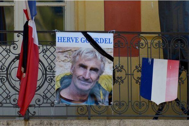 Un portrait du Français Hervé Gourdel, pris dans son village de Saint-Martin-Vesubie le 25 septembre dernier.
