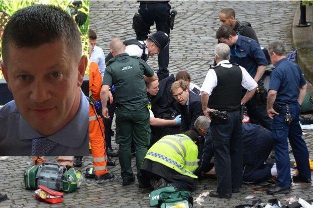 Keith Palmer, le policier tué mercredi dans l'attentat de Londres.