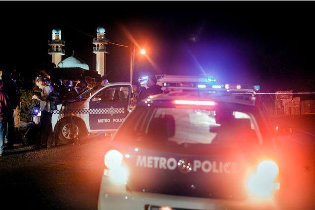 Alerte à la bombe dans une mosquée à Durban, en Afrique du Sud, le 13 mai dernier. Trois jours plutôt, une attaque similaire à celle commise jeudi avait eu lieu à Verulam.
