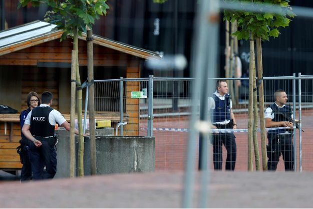 C'est ici, à Charleroi en Belgique, qu'a eu lieu l'attaque de deux policières samedi.