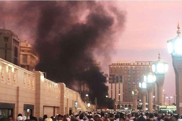 L'explosion à Médine.