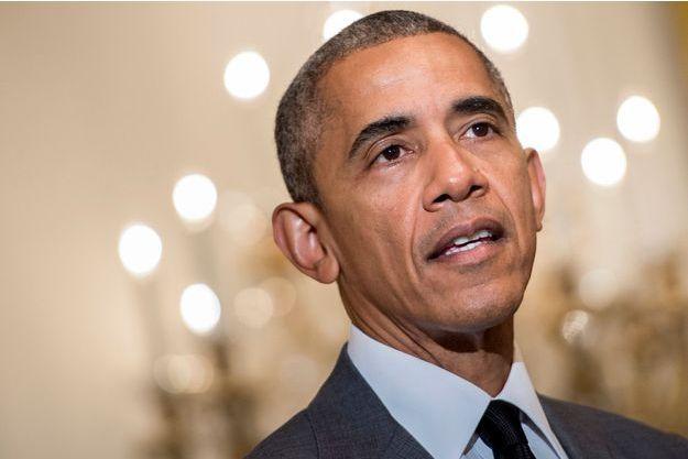 Barack Obama, vendredi 15 juillet à la Maison Blanch