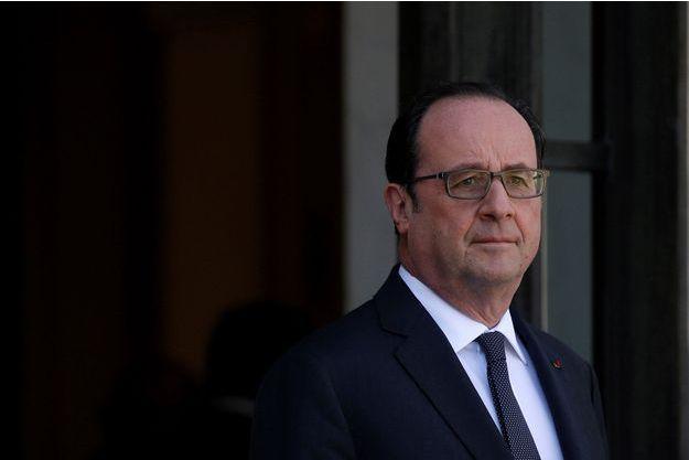 François Hollande à l'Elysée le 30 mars.