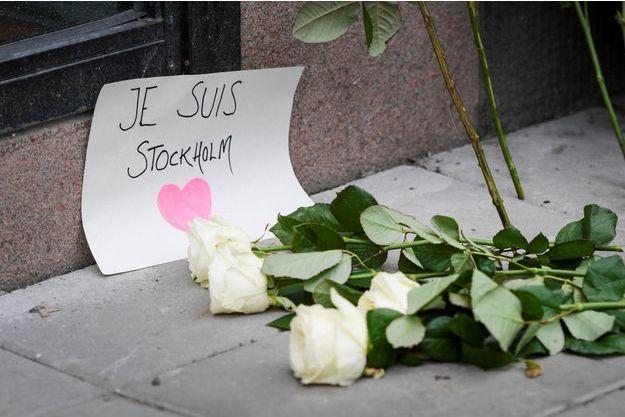 L'attentat en Suède a fait quatre morts vendredi.