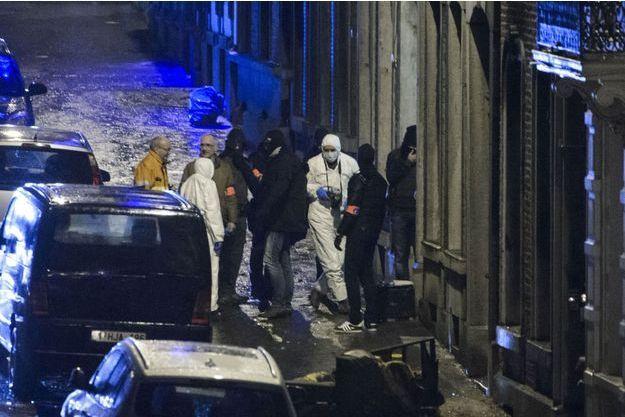L'opération de police de Verviers, en janvier 2015