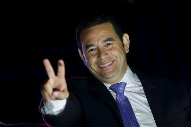 Jimmy Morales a été élu président du Guatemala dimanche.