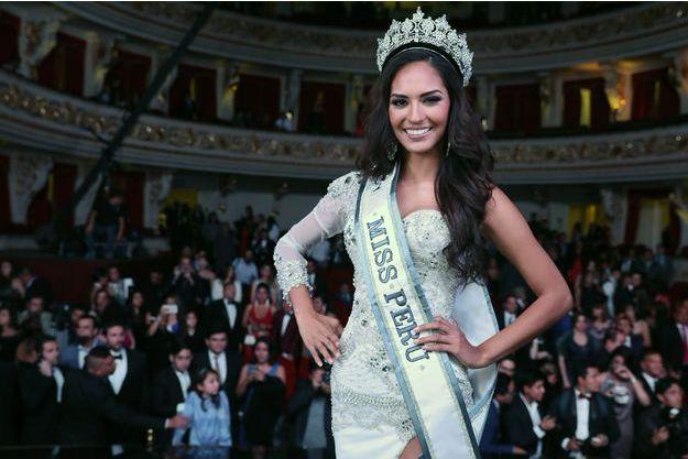 La nouvelle Miss Pérou, Romina Lozano.