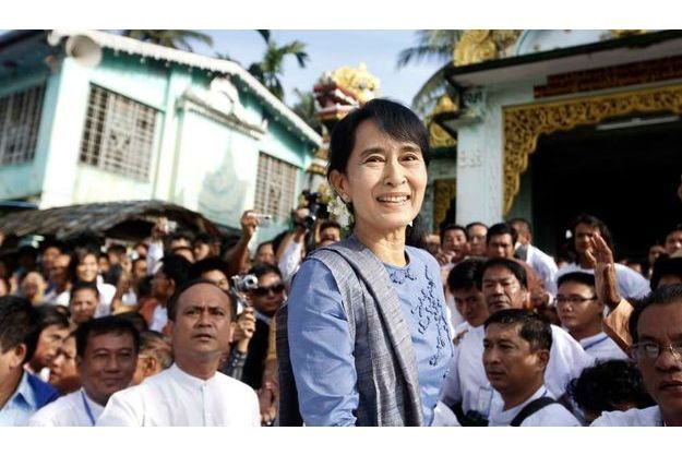 Aung San Suu Kyi, le 14 août dernier.