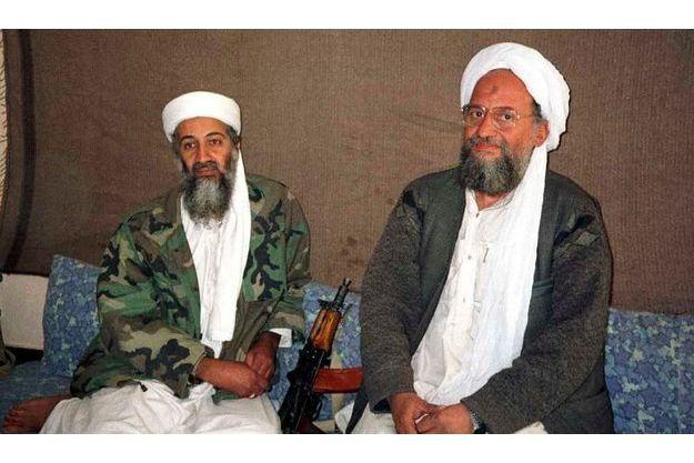 Ben Laden et al-Zawahiri, en 2001.