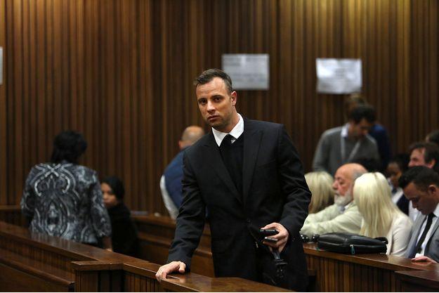 Oscar Pistorius durant son procès en appel à Pretoria, en juin 2016.