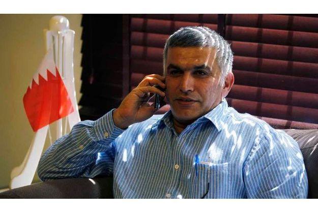 Nabeel Rajab en mai dernier.
