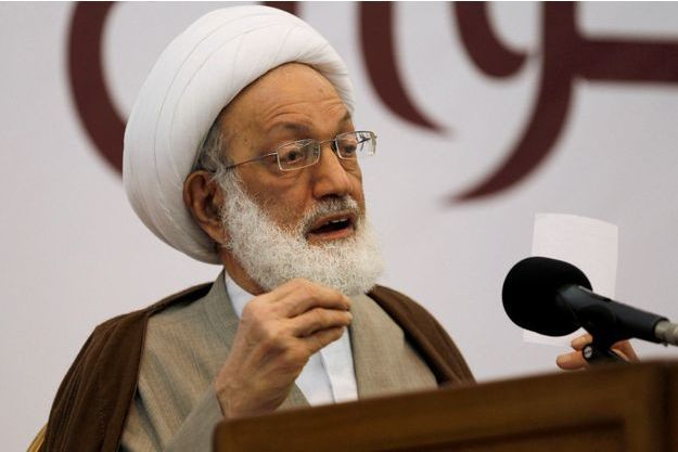 Le Cheikh Issa Qassem, 75 ans, chef spirituel de la majorité chiite.
