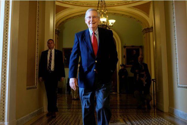 Les sénateurs républicains avaient le sourire après un vote qualifié d'historique sur la fiscalité.