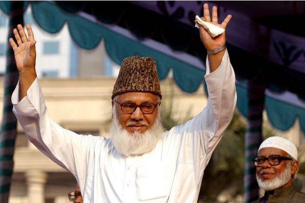 Moulana Motiur Rahman Nizami en 2006.