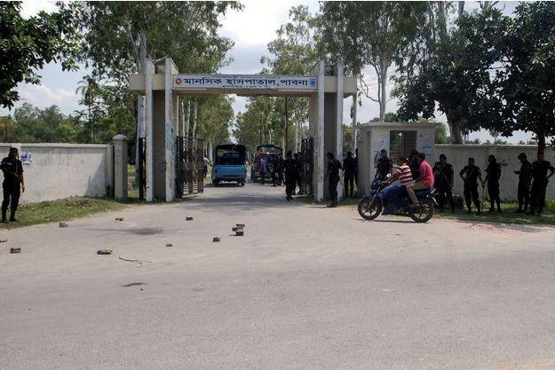 L'employé d'un monastère hindou a été tué cette semaine.