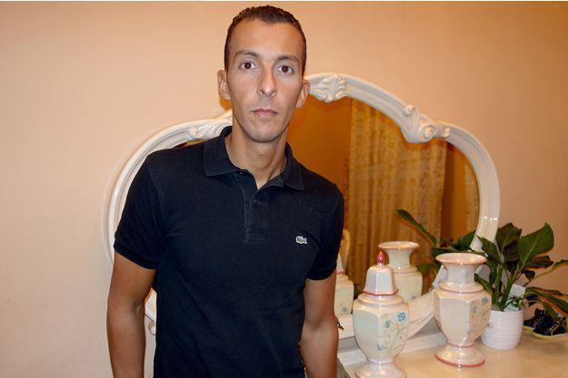 Mohamed Abdeslam, chez lui à Molenbeek.