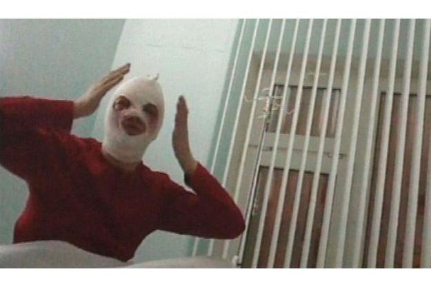 Sergueï Filine est apparu sur la chaîne de télévision russe REN TV, le visage sous de nombreux bandages.