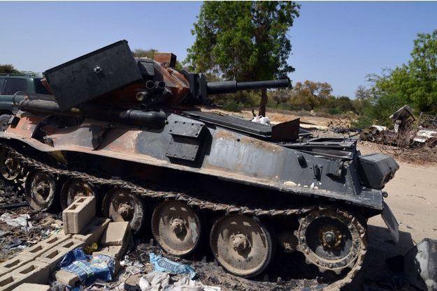 Un véhicule militaire de Boko Haram (photo d'illustration)