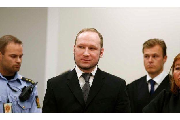 Fidèle à lui-même, Breivik a accueilli le verdict avec un sourire.