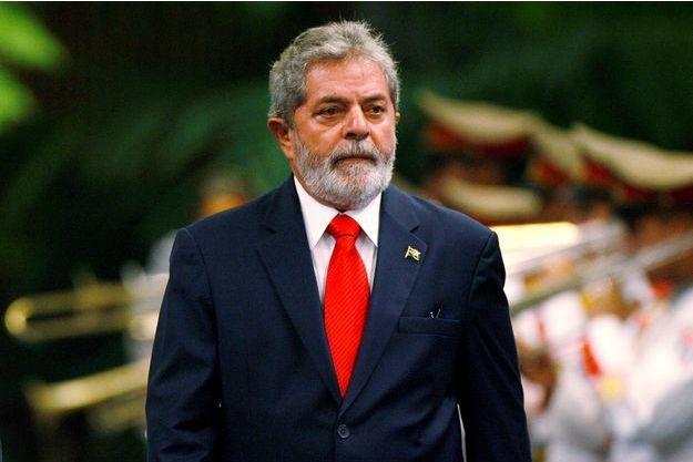 Lula, en janvier 2008.
