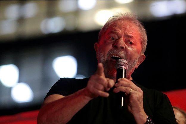 L'ex-président brésilien Lula, le 24 janvier.