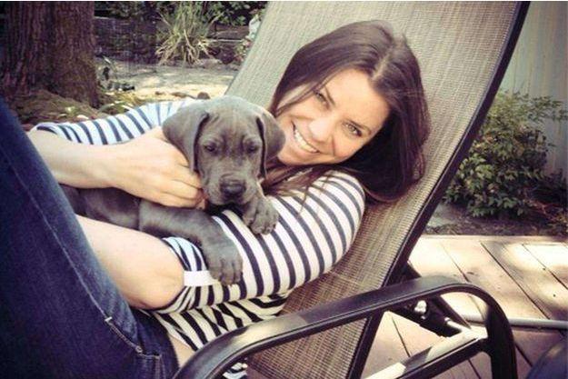 Brittany Maynard sur une photo diffusée par sa famille.