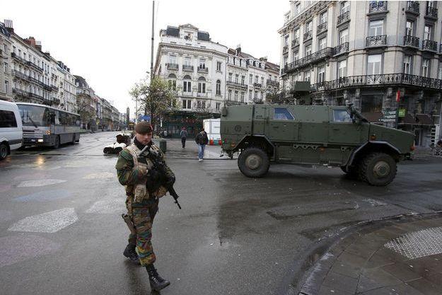 Les rues de Bruxelles, dimanche 22 novembre.
