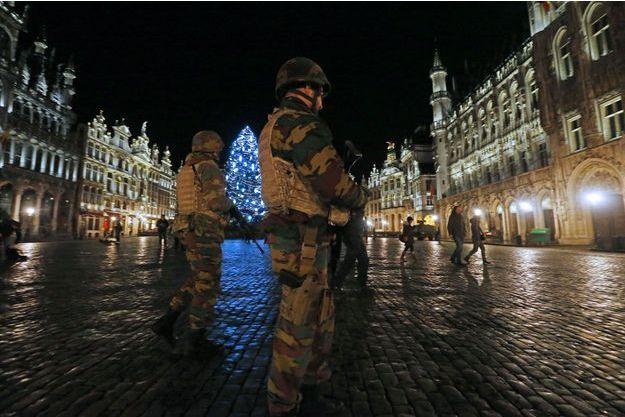 Bruxelles est encore en alerte ce lundi