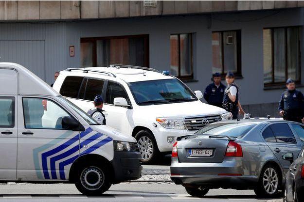 La police belge a mené une reconstitution le 19 mai dernier.