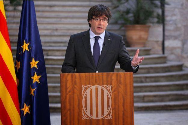 L'indépendantiste Carles Puigdemont.