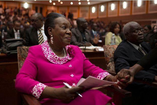 Catherine Samba-Panza a été élue à la présidence intérimaire de la République centrafricaine.