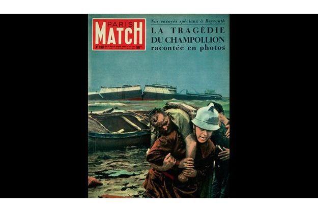 La couverture de Paris Match en janvier 1953.