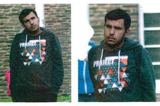 L'avis de recherche de Jaber Albakr diffusé par la police allemande.