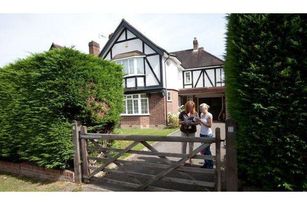 La Maison de la famille Al-Hilli à Claygate, près de Londres