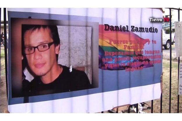 Daniel Zamudio a été tué à Santiago parce qu'il était homosexuel.