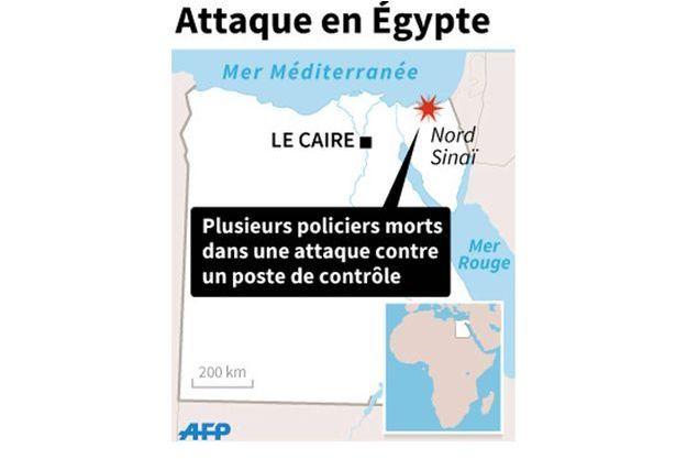 Cinq policiers ont été tués dans le Sinaï.