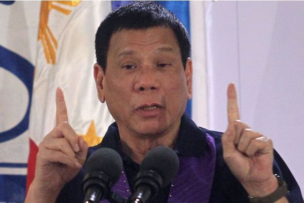 Le président philippin Rodrigo Duterte, le 30 septembre 2016.