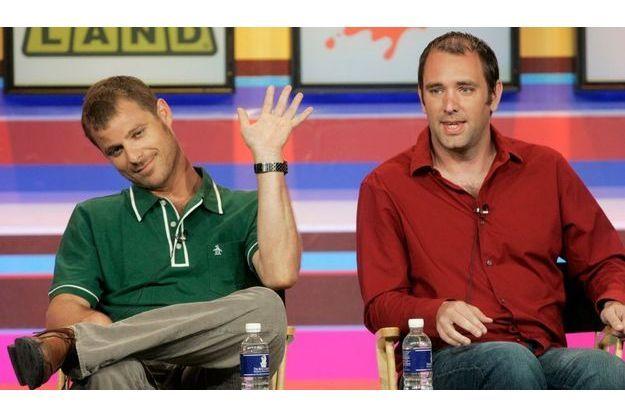 """Trey Parker et Matt Stone, les créateurs de """"South Park""""."""