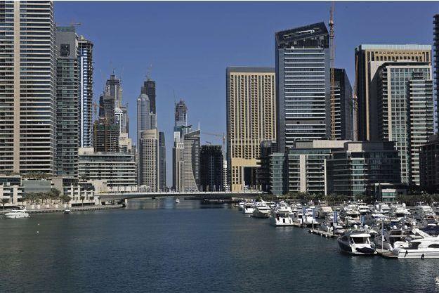 La marina de Dubaï, où ont été arrêtés les participants à une orgie.