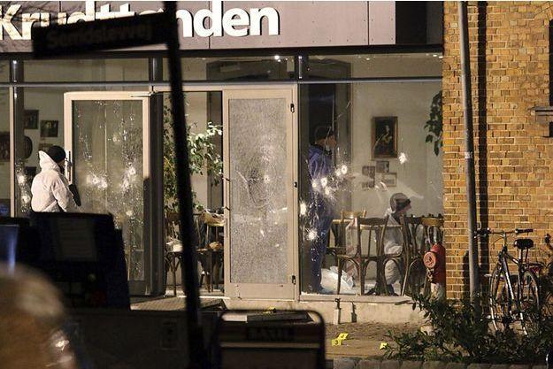 Le café Krudttoenden où se tenait le débat.