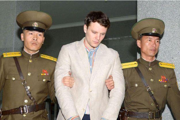 Otto Warmbier, 21 ans, a été condamné à 15 ans de travaux forcés en Corée du Nord.