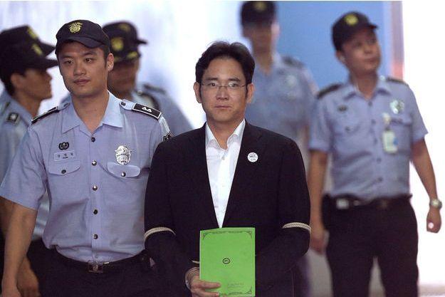 Lee Jae-Yong, vice-président de Samsung Electronics et fils du président du groupe Samsung.