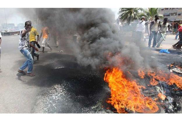 Les manifestations se sont poursuivies ce jeudi à Abobo.