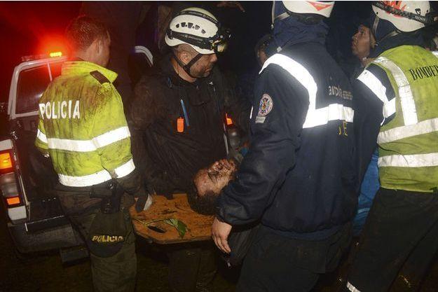 Helio Neto, transporté à l'hôpital après le crash. Il a passé neuf jours dans le coma.