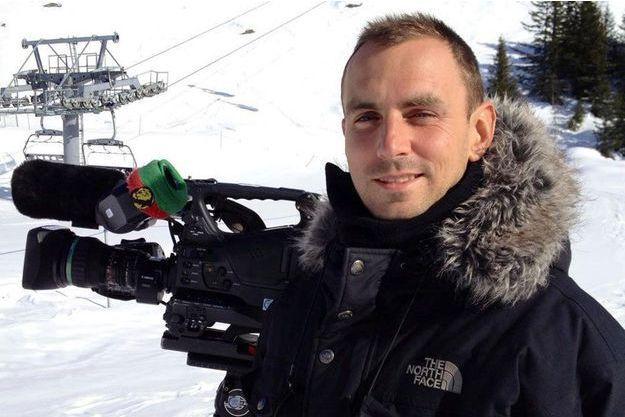 """Brice Guilbert, caméraman pour """"Dropped"""", avait 32 ans."""