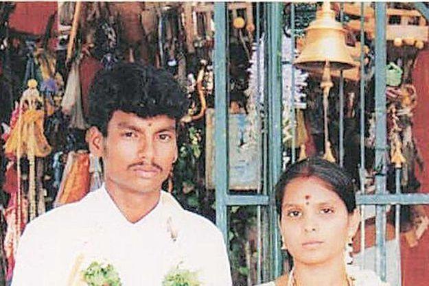 Sankar et Kausalya ont été attaqués en Inde parce qu'ils se sont mariés alors qu'ils n'appartenaient pas à la même caste.