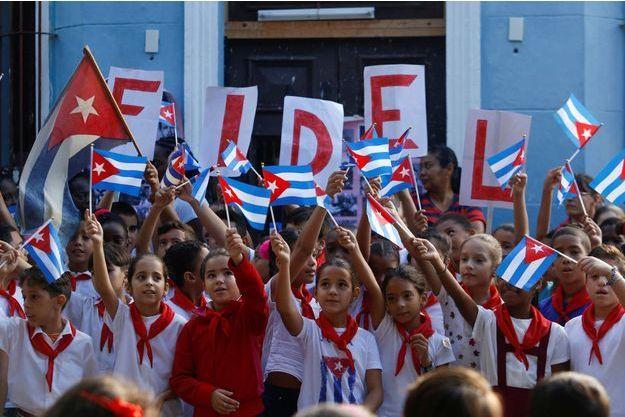 Un hommage a été rendu à Fidel Castro un an après sa mort.